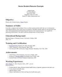 Nursing Resume Examples New Grad New Grad Nursing Resume Cover Letter Samples Graduate Examples Fresh 10