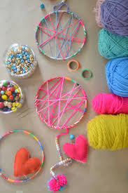Dream Catcher Craft For Preschoolers Magnificent DIY Dream Catchers Made By Kids ARTBAR