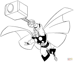Small Picture Thor coloring pages Free Coloring Pages