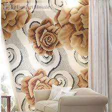 glass wall tiles for living room b4054