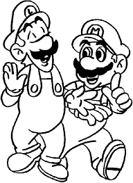Small Picture Luigi Coloring Pages Coloring Pages To Print