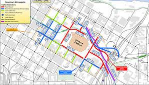 Feb 2 Street Closings Near U S Bank Stadium For Super Bowl