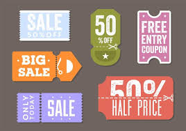 Coupon Free Vector Art 17 667 Free Downloads