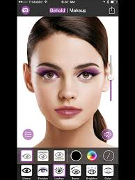 behold contouring plus selfie makeup editor app screenshot 7
