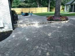 square concrete paver patio. Paver Cost Per Square Foot Patio . Ow Muc Concrete