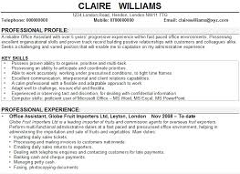Teaching Assistant Cv Example Office Assistant Cv Sample