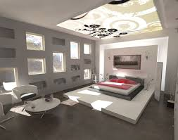 modern bedroom ceiling design ideas 2015. Modern Home Interior Design For Bedroom With Ceiling Art Decor And Multiple Windows Also Low Platform Bed Ideas 2015