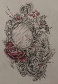 Hand mirror tatt ideas I want the words from Disneys Snow White