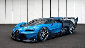 The bugatti designers drew their inspiration from the brand's racing tradition. Set Of Spare Tires For The Bugatti Vision Gt Cost 93 000