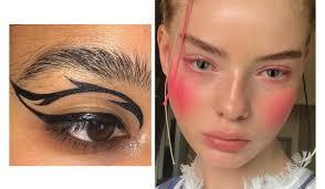 makeup looks fresh off insram nbga mag no basic s allowed