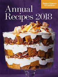 better homes gardens annual recipes 2018