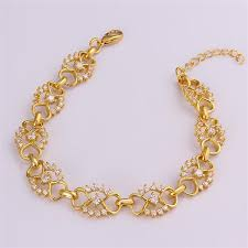 gold bracelet for baby girl ba girls 18k gold bracelets rose gold jewelry bangle 18k gold
