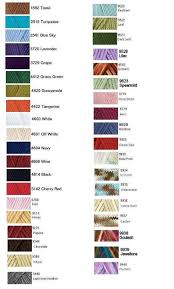 I Love This Cotton Yarn Color Chart Ravelry Hobby
