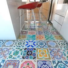 Kitchen Tile Decals Stickers Spanish Tiles Flooring Floor Tiles Floor Vinyl Tile