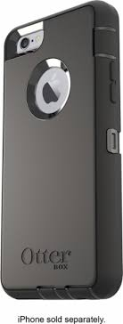 apple iphone 6 black. otterbox - defender case for apple® iphone® 6 and 6s black front_zoom apple iphone o