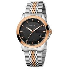 gucci g timeless men s rose gold plated and stainless steel gucci g timeless men s rose gold plated and stainless steel bracelet watch
