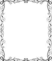 frame. Flourish Frame Vector Design -