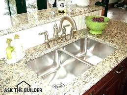 can a top mount sink be undermounted sink vs top mount kitchen sink what are the can a top mount sink