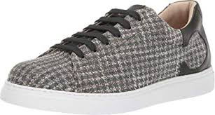 Amazon Com Canali Mens Houndstooth Sneaker Fashion Sneakers