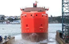 Astilleros Gondán bautiza los dos primeros SOV construidos en España -  PortalPortuario