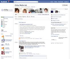 New Facebook Page Layout Clickymedia Prlog