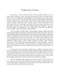 compare amp contrast essay the hunger games