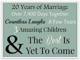Quotes About 20 Years Of Marriage