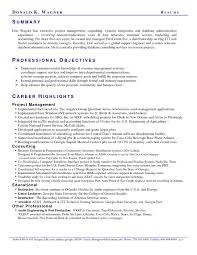 How To Write A Resume Summary – E-Cide.com