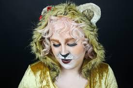 cowardly lion makeup tutorial you