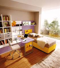 Kids Bedroom Furniture With Desk Fancy Teenage Girls Bedroom Furniture Design With White High Beds