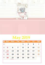 Calendar 2019 Printable With Holidays May 2019 Holidays Calendar Calendar 2018