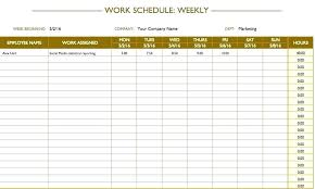 Homework Calendar Templates Delectable Excel Assignments Assignment Schedule Template Lesson Plan