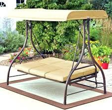 canopy swing bed canopy swing outdoor bed outdoor swing hammock rocker tan garden furniture canopy steel