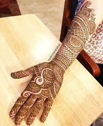 Free Hand Mehndi Design Bridal Henna For Anjali Visit Www Amritahenna Com For More