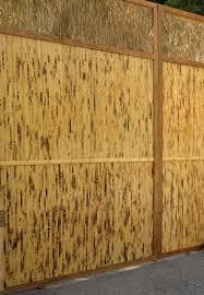 bamboo wall covering