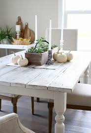 Whitewashed Reclaimed Wood Dining Table Satori Design for Living