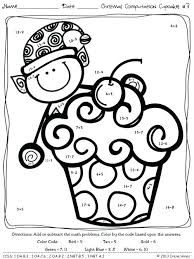 First Grade Spring Worksheets Coloring Pages For Graders Grade Free