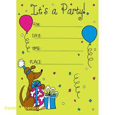 Children Birthday Invitation Cards Card Design Ideas