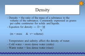 8 density density