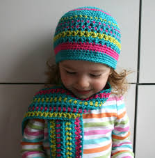 Free Crochet Patterns For Childrens Hats And Scarves