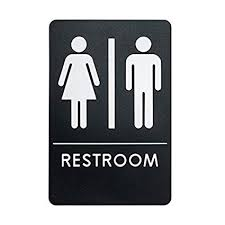 Unisex Bathroom Signs