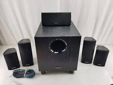onkyo surround sound speakers. onkyo skc 390 surround sound home speakers w subwoofer 5.1