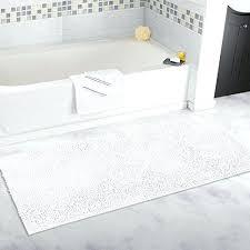 non slip runner inch non slip bathroom rug runner shower mat machine washable non slip