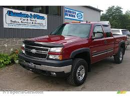 All Chevy chevy 2500hd 2006 : 2006 Chevrolet Silverado 2500HD LT Extended Cab 4x4 in Sport Red ...
