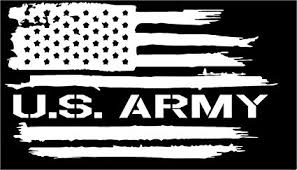 Firehouse Graphics American Flag US Army Soldier ... - Amazon.com