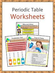 Jpg download   pdf download. Periodic Table Facts Worksheets Arrangement Properties History Kids