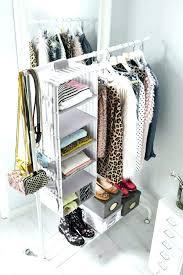 ideas for hanging clothes without a closet no closet storage solutions closet