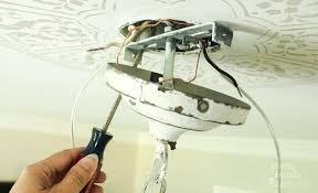 ceiling light no wiring how to install a new chandelier pretty handy girl ceiling light wiring