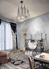interior designs with crystal ship chandelier