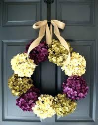 hang wreath glass door seasonal style hanging